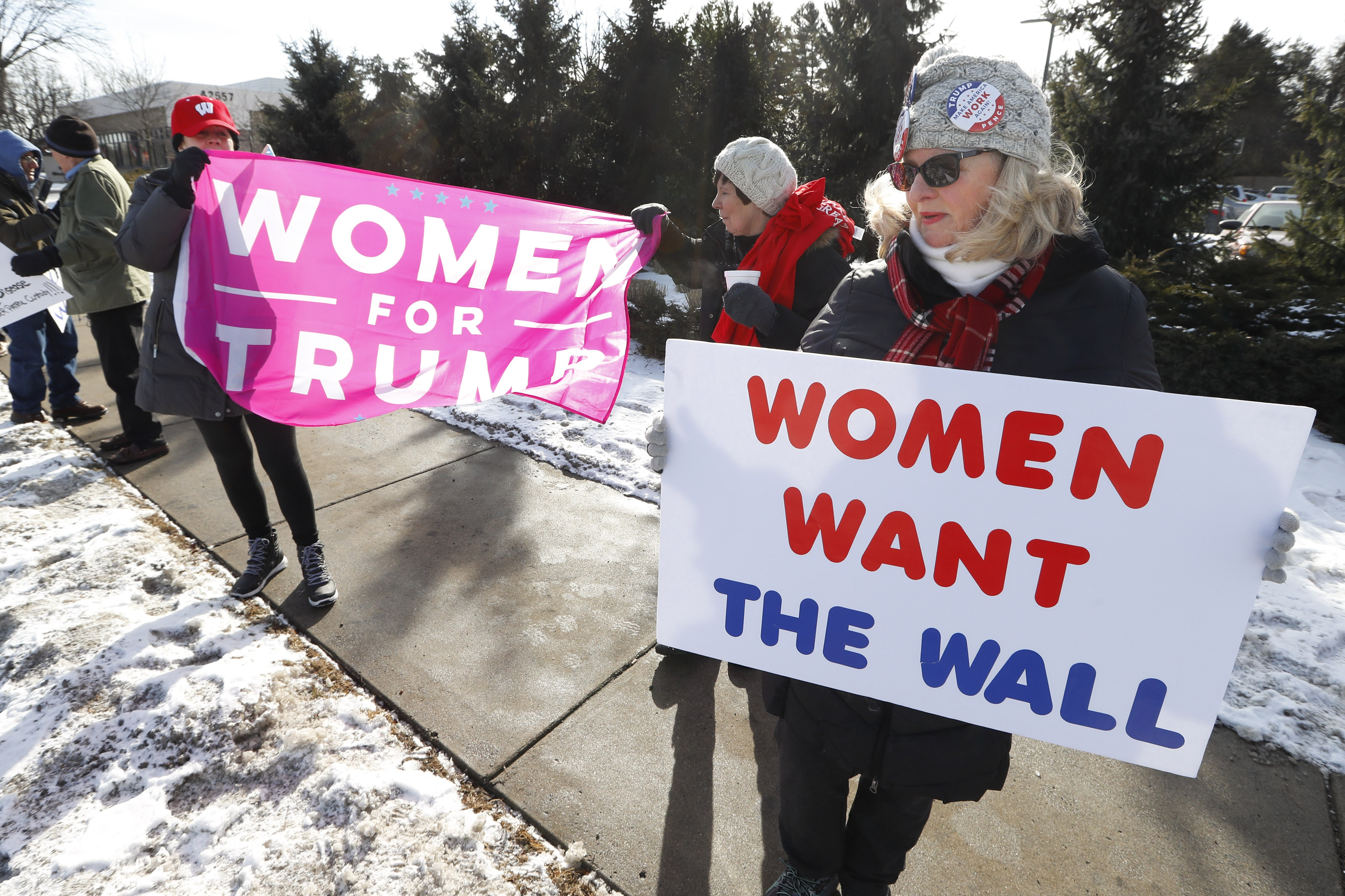 Women are Trump's most loyal supporters, more than men