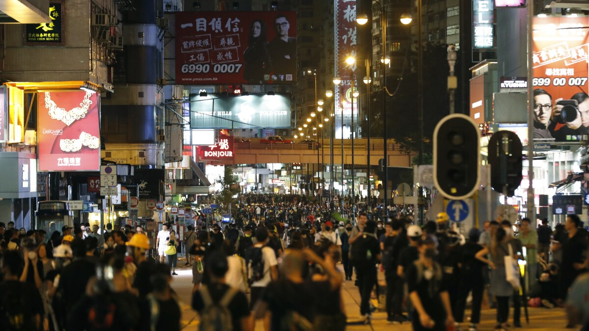 Facebook and Twitter accuse China of running disinformation campaign to destabilize Hong Kong
