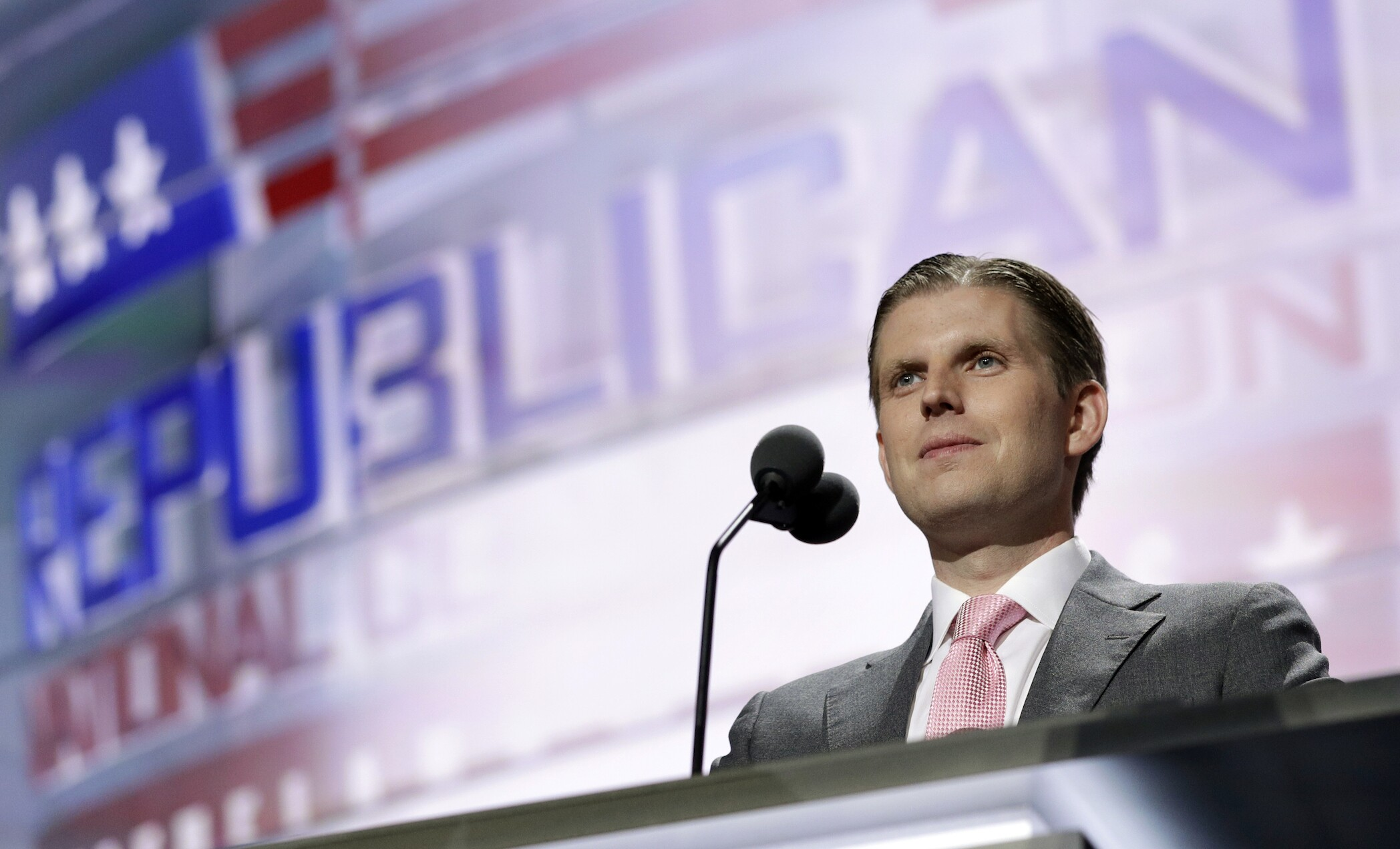 Eric Trump: Dad keeping promises, 'already making America great'