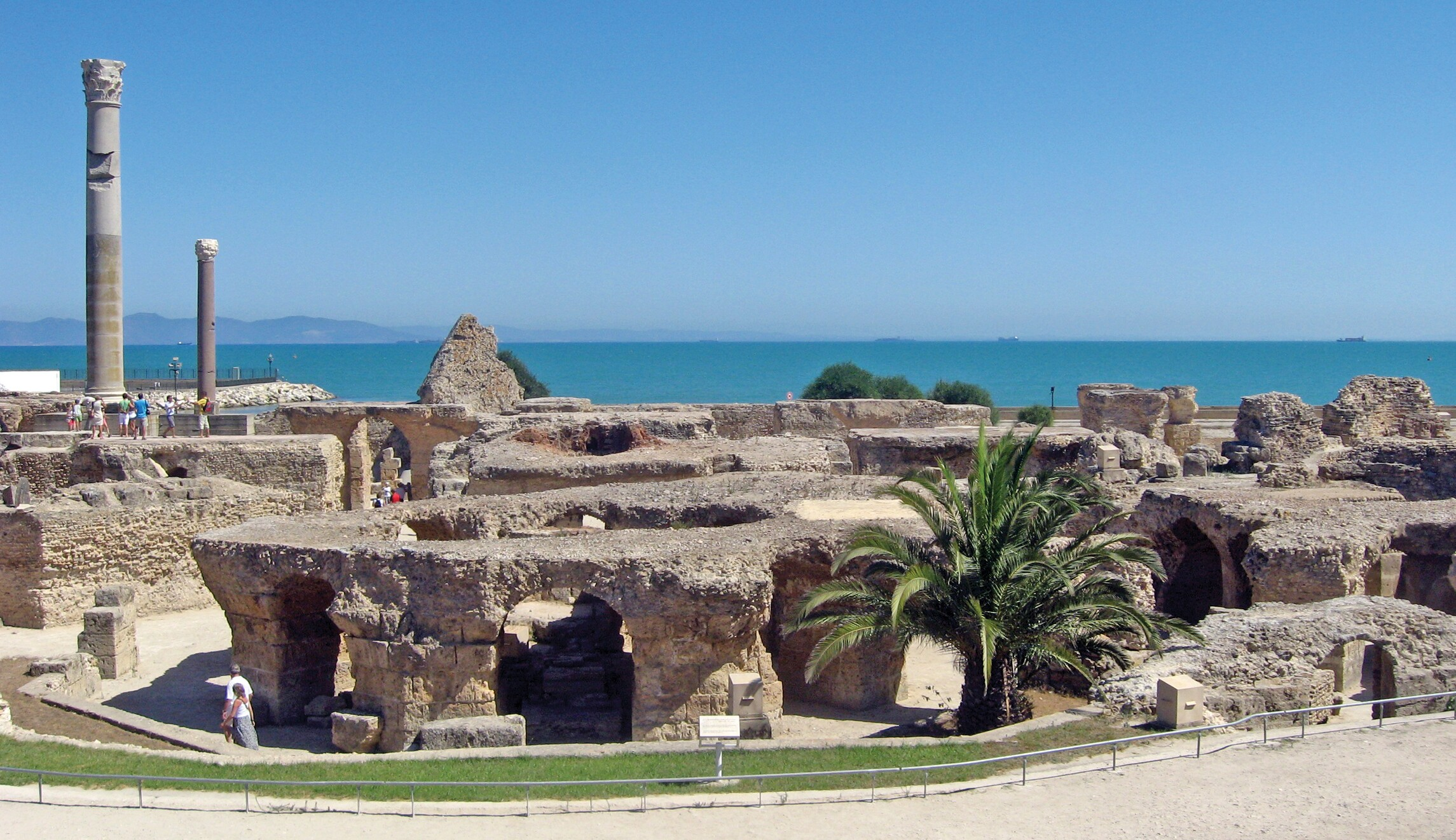 Postcard from Carthage: Out with the Old