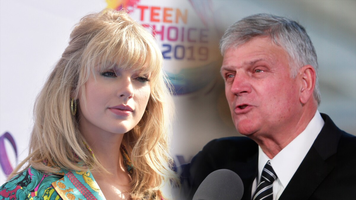 Bad blood: Franklin Graham criticizes Taylor Swift's support for Equality Act