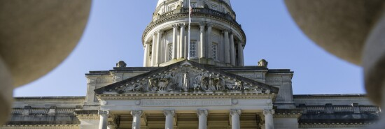 Kentucky State Capitol Dome in Frankfort