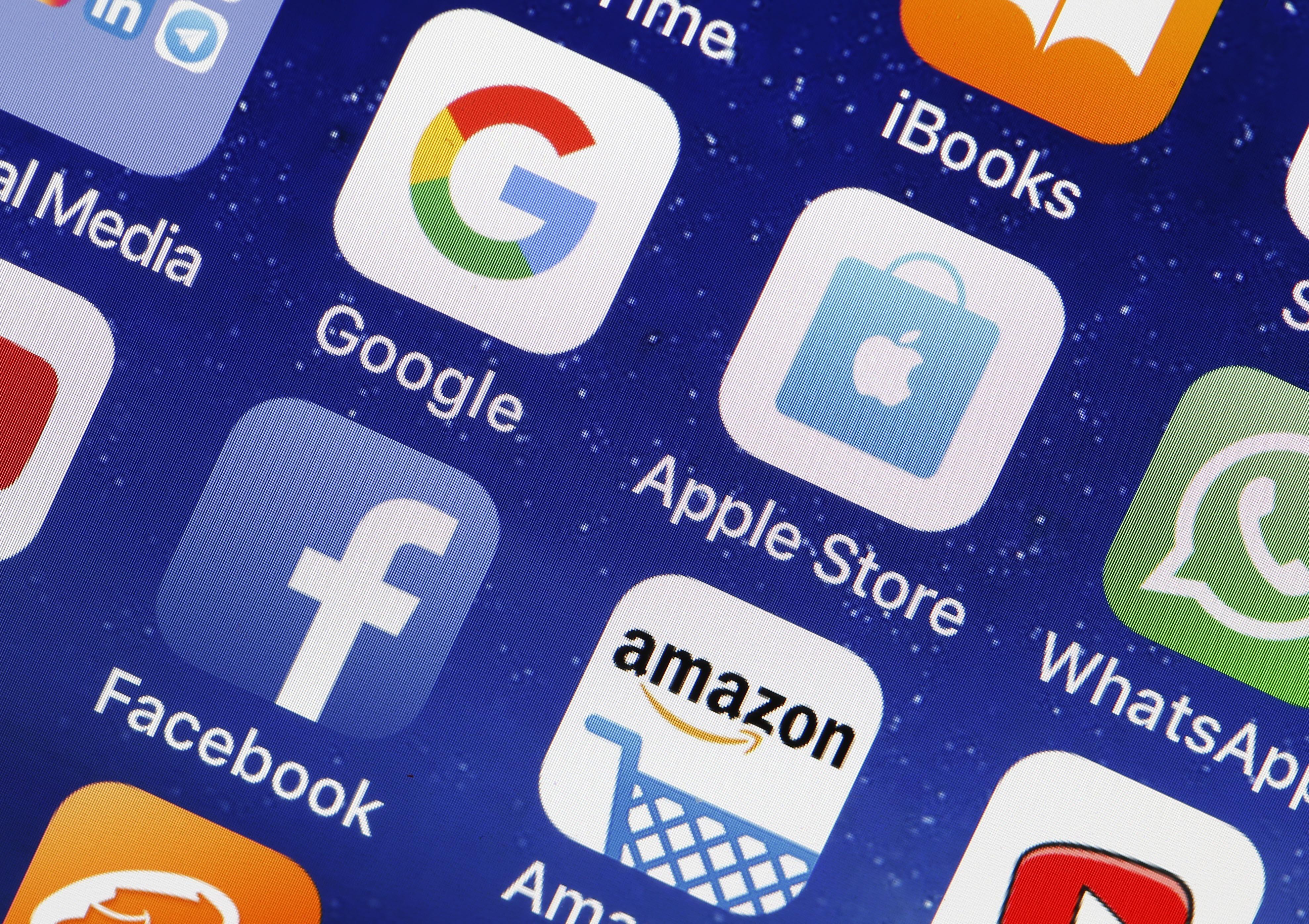 Big Tech Silicon Valley Google Apple Amazon Facebook
