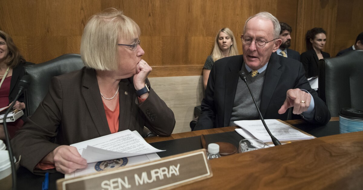 Alexander and Murray release wide-ranging bipartisan plan to lower healthcare costs