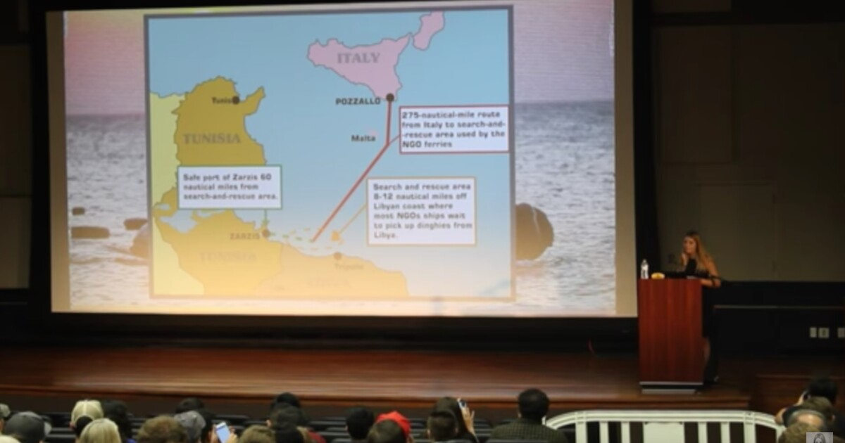 Lauren Southern's UC Irvine speech debunks myths about the migrant crisis