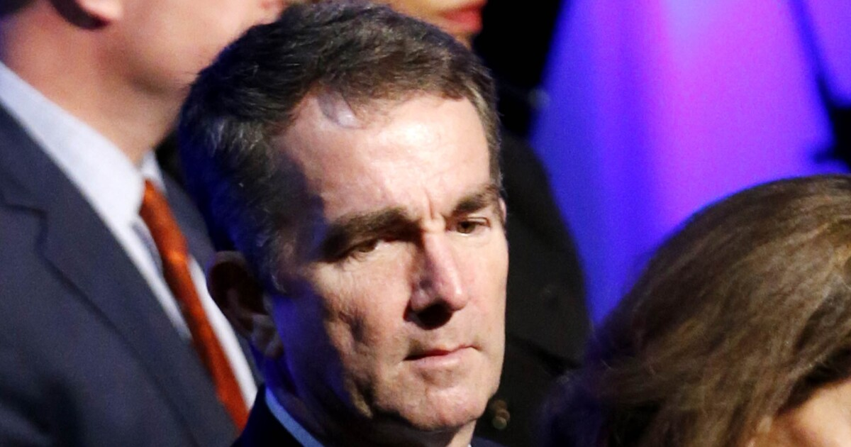 Embattled Ralph Northam talks of 'second chances' as he touts civil rights restored to convicted felons