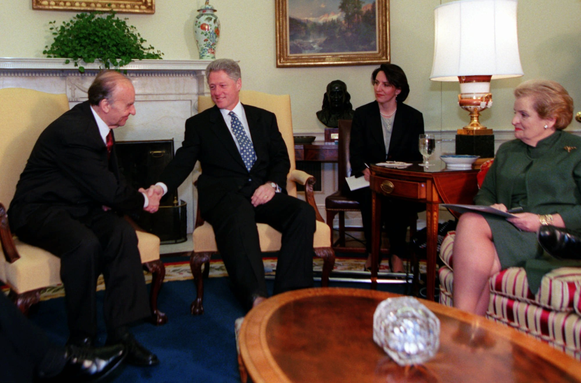 Clinton Us Leaders Mark 20 Years Since Dayton Peace Accord