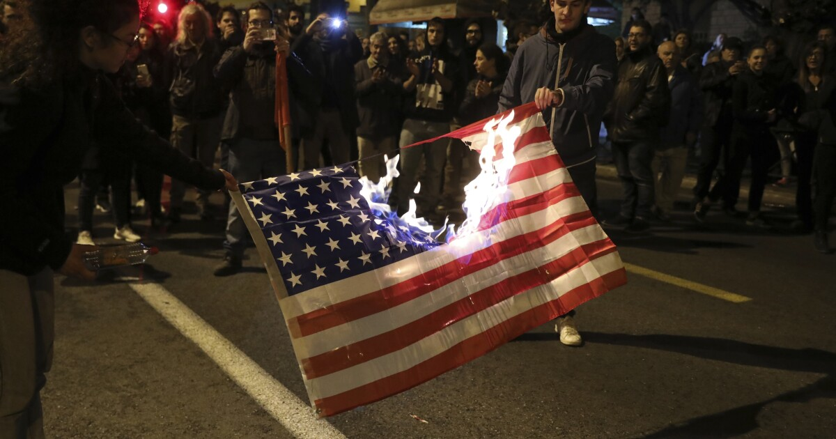 Image result for Dems and the US flag