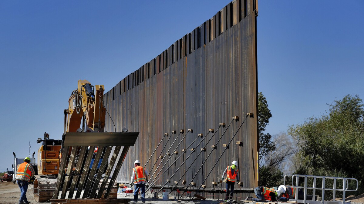 Judge rules that Trump's emergency declaration to build border wall violated federal law