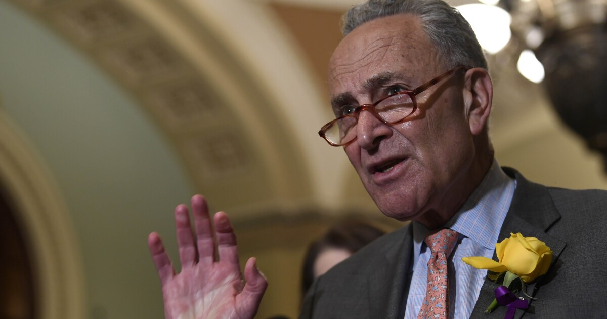 Schumer: Trump's Russia comments 'disgraceful, shocking'