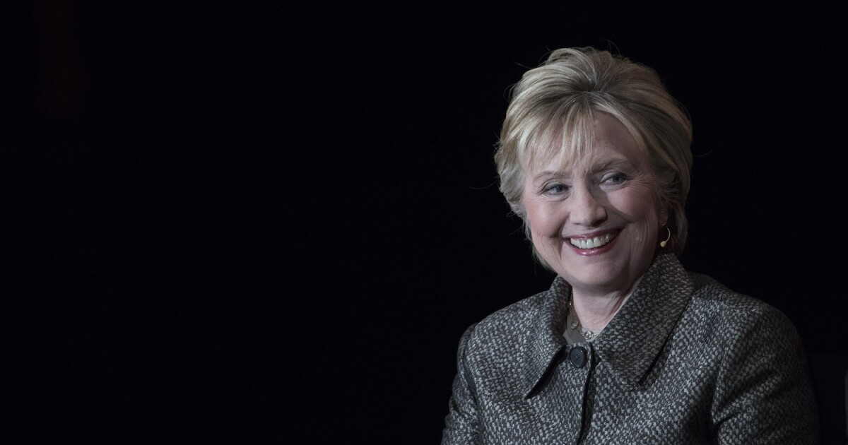 Hillary Clinton sounds like a presidential candidate