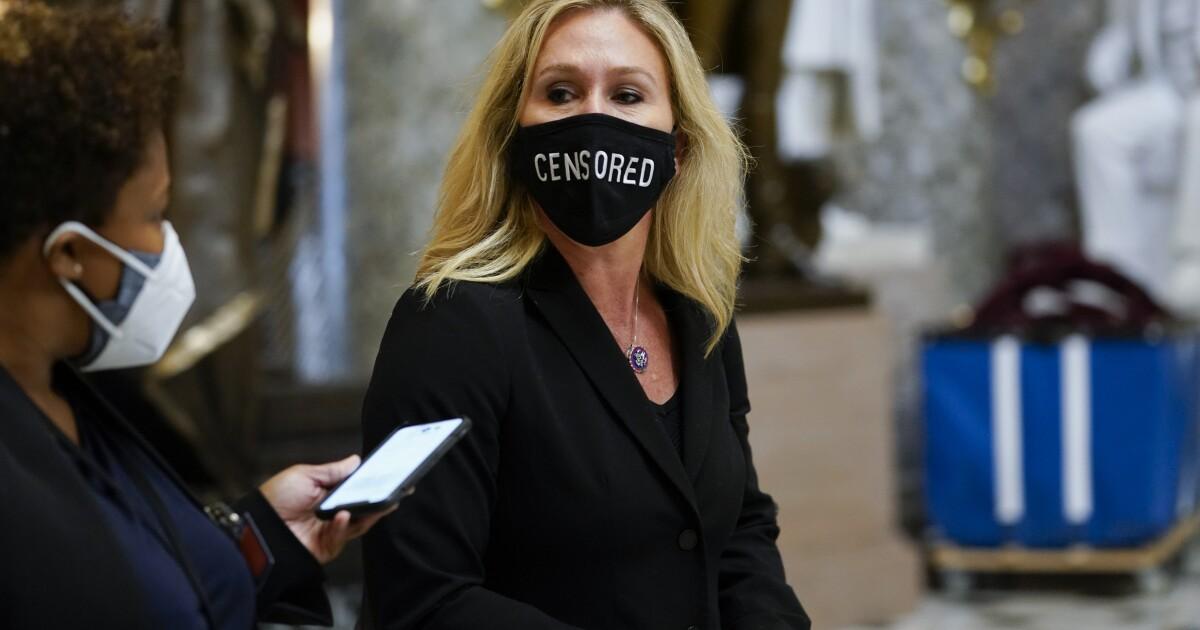 Twitter suspends Marjorie Taylor Greene