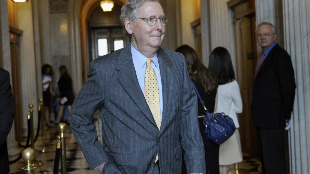 Senate GOP reports record fundraising haul for year prior to an election