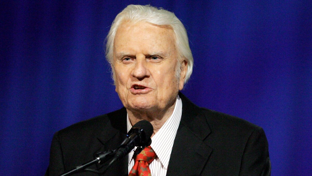 Billy Graham statue to adorn Statuary Hall in Capitol