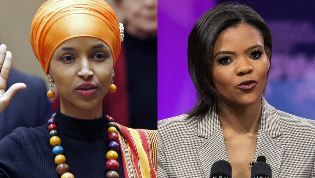 Ilhan Omar and Candace Owens-041819