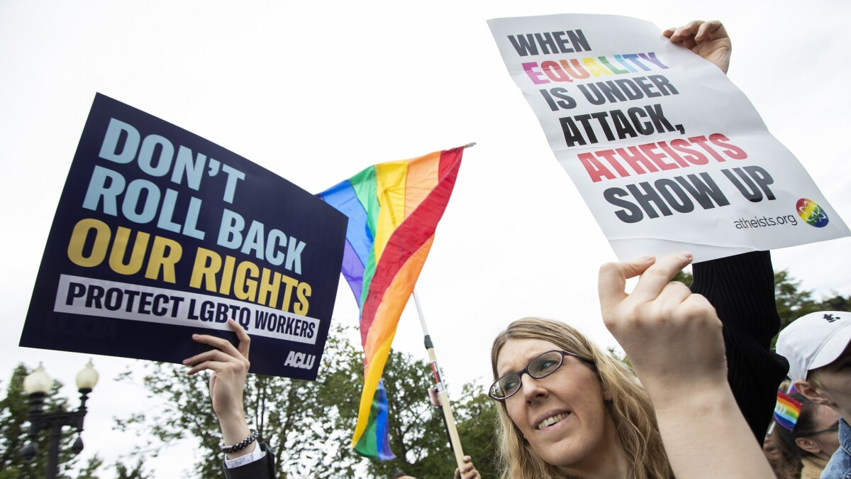 Will the Supreme Court overrule Congress on transgender rights?