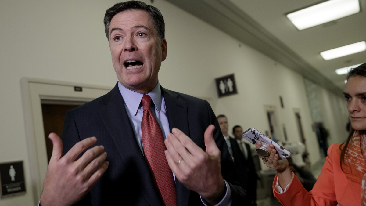 Comey 'would love to see maximum transparency' in Kavanaugh investigation