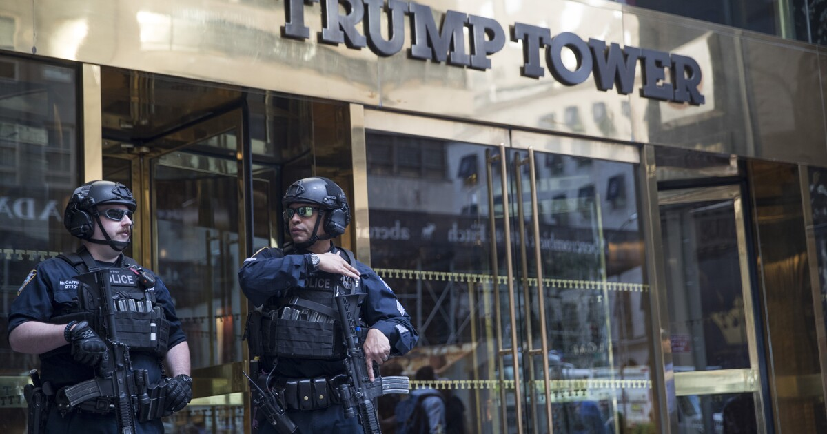 New Jersey man charged with discussing bombing Trump Tower