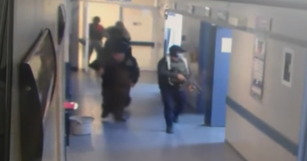 VIDEO: Armed hitmen storm hospital and kidnap patient who was later found dismembered