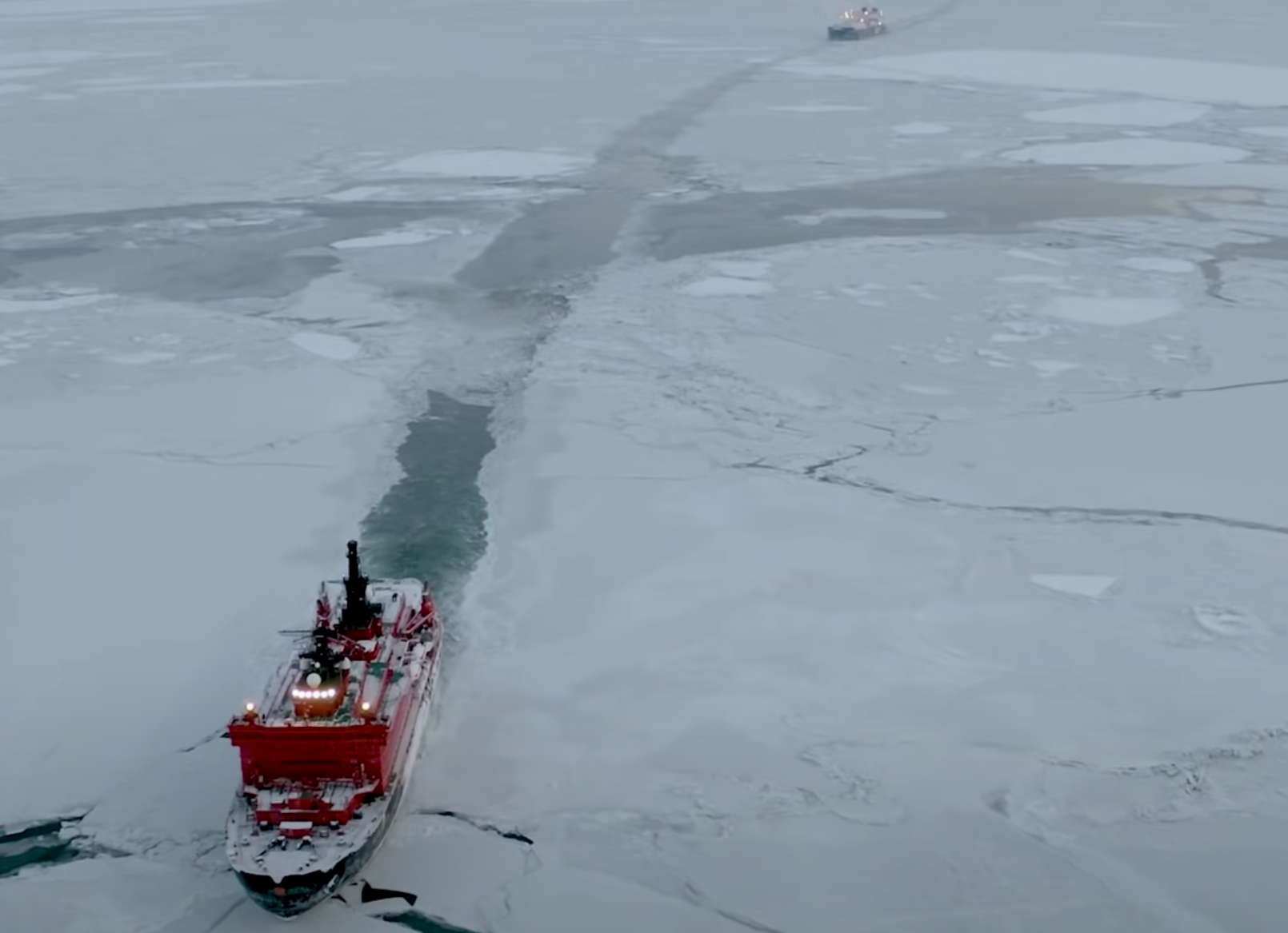 Northern Sea Route tanker trip
