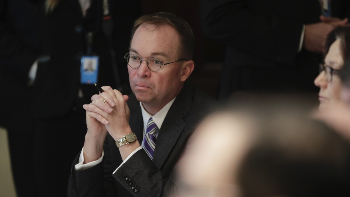 Mulvaney drops lawsuit against Congress and says he'll follow Trump's direction on impeachment testimony