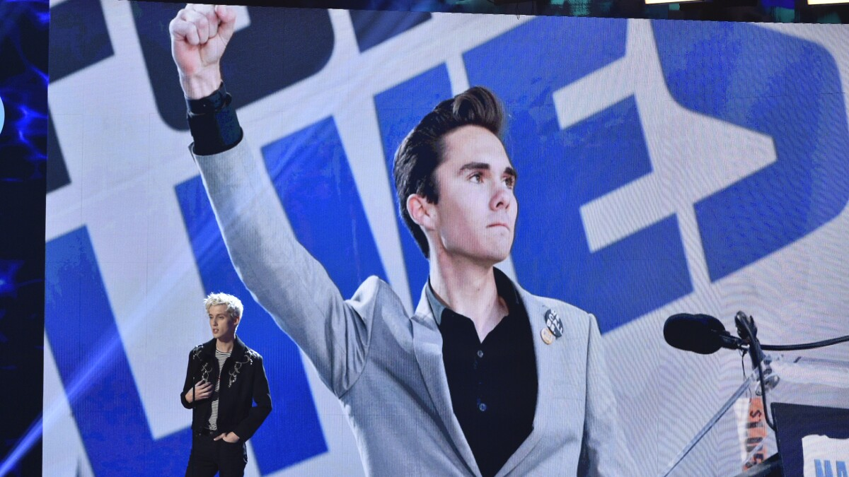 David Hogg: Minorities and 'non binary people' founded the gun control movement 'centuries ago'