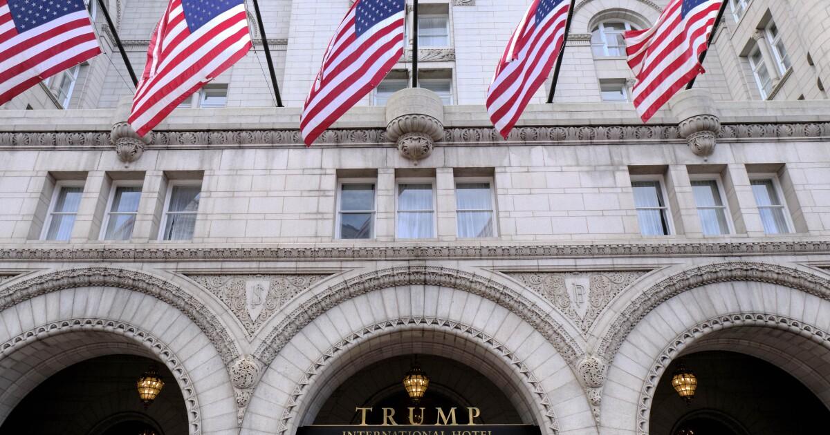 Trump's DC Hotel liquor license renewal in danger over president's 'character'