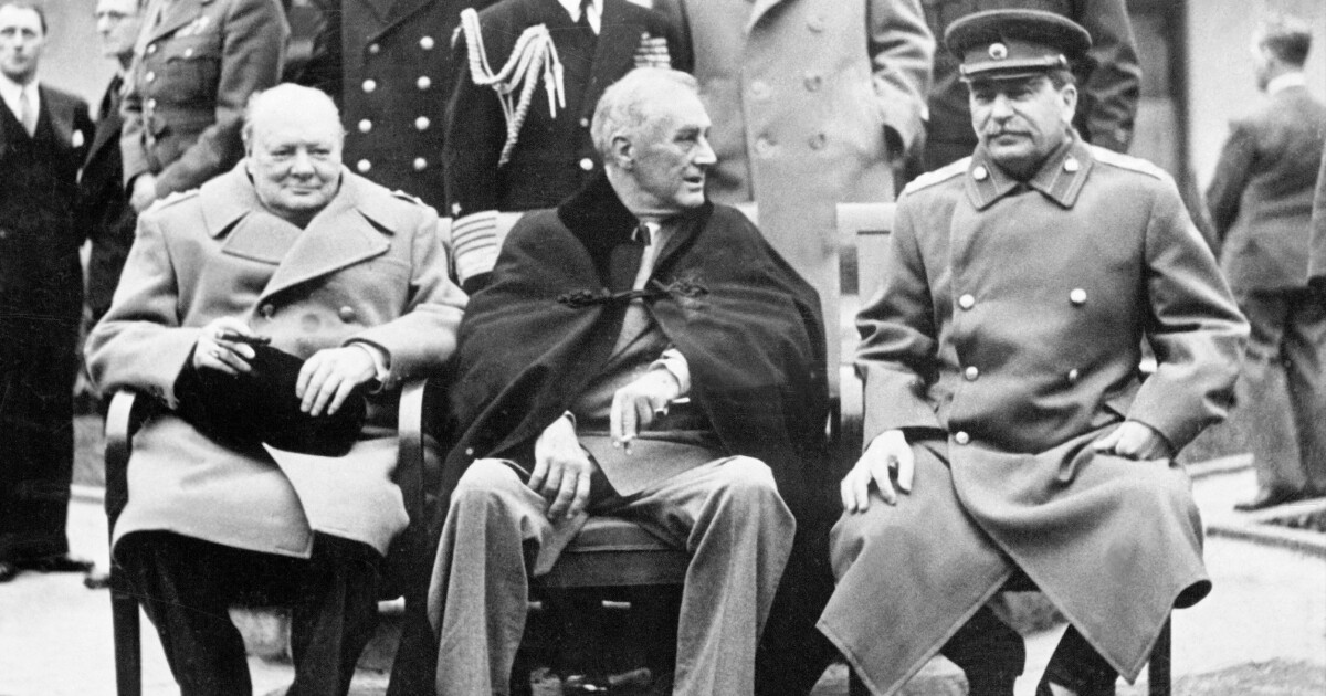 How the West lost World War II at Yalta