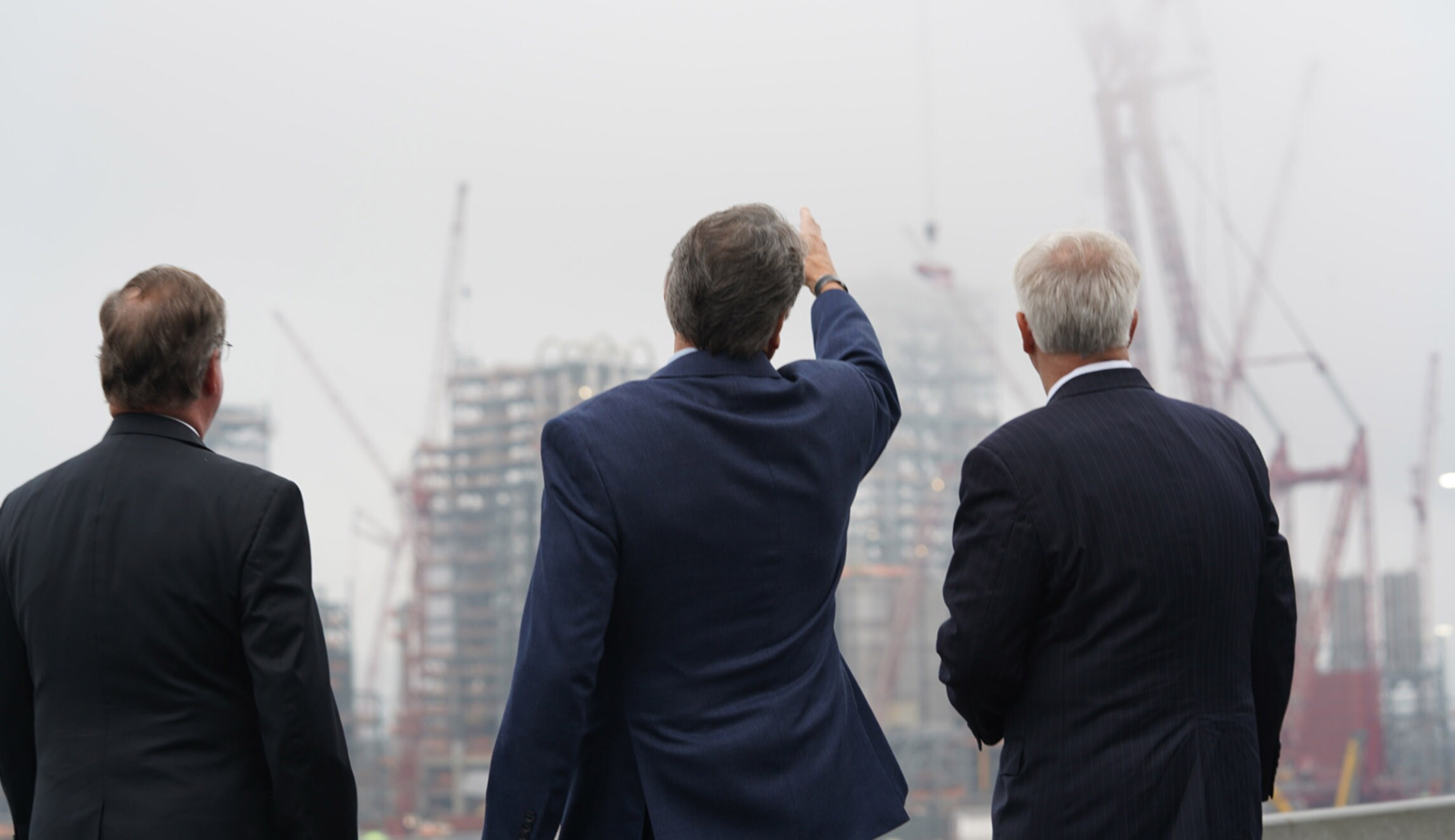 Energy Secretary Rick Perry is seen at the Shell cracker plant in Beaver County, Pennsylvania.