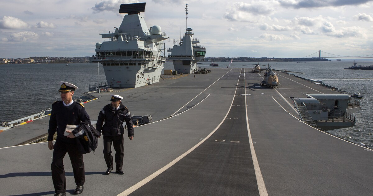 Britain kowtows to China in the South China Sea