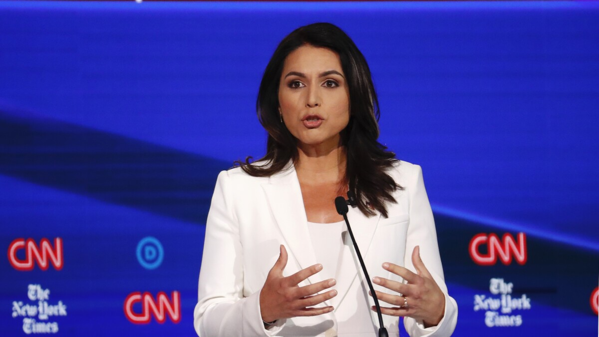 'Queen of warmongers': Tulsi Gabbard pushes back against Hillary Clinton claim she's Russian asset