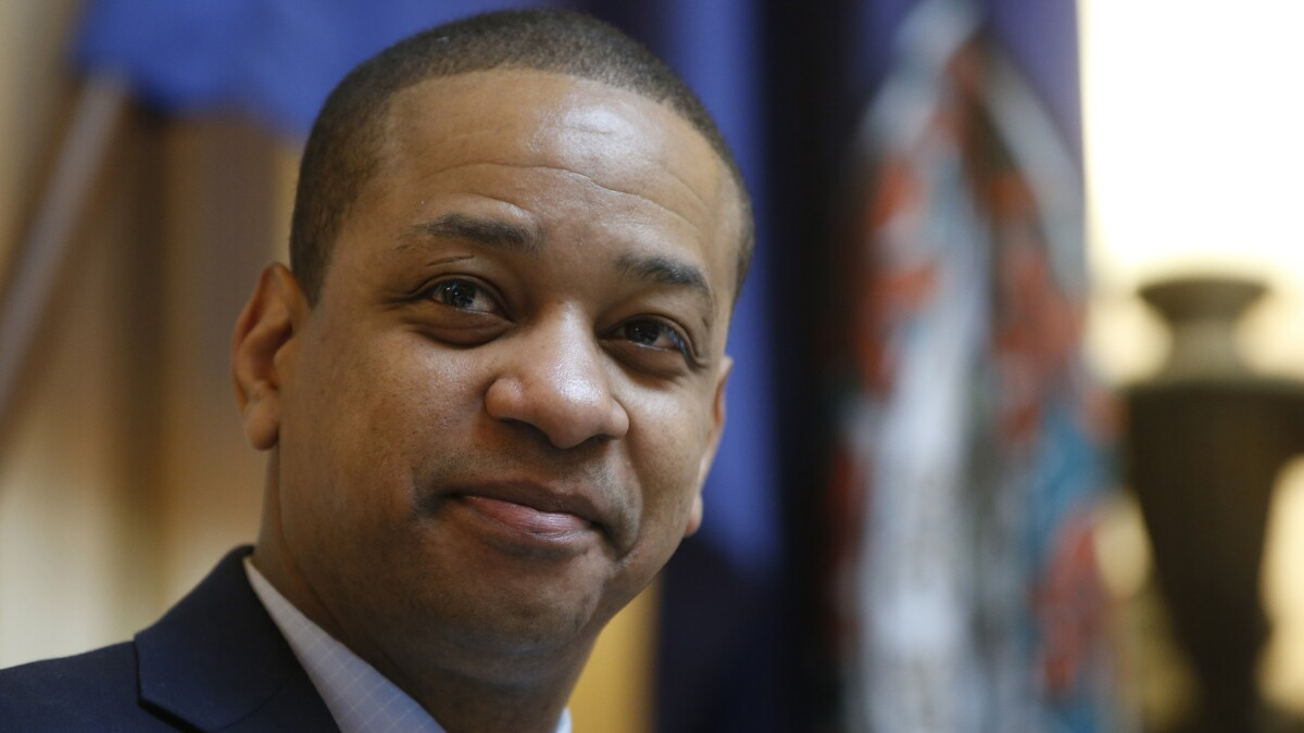 Justin Fairfax considering run for governor, says sex assault accusations boosted his profile