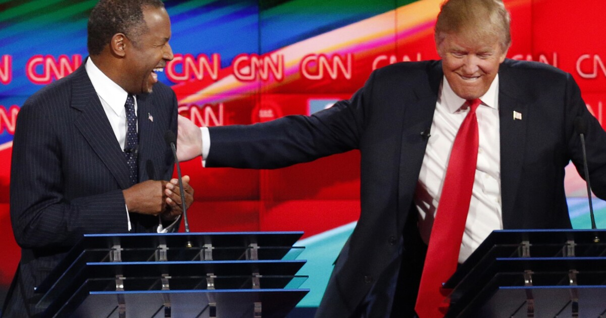 Ben Carson: Trump says to me all the time, 'Aren't you glad you didn't win?'