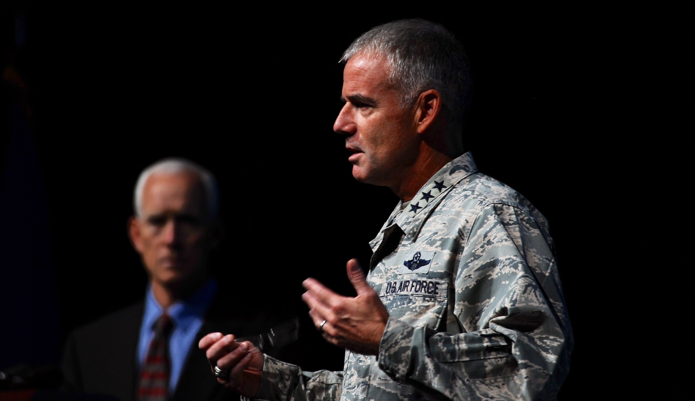 Air Force general: 'If you can't treat someone with dignity and