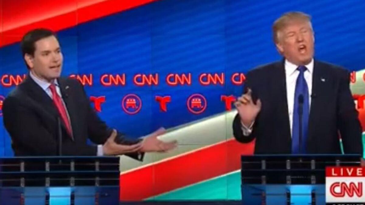 Rubio Traps Trump on Health Care