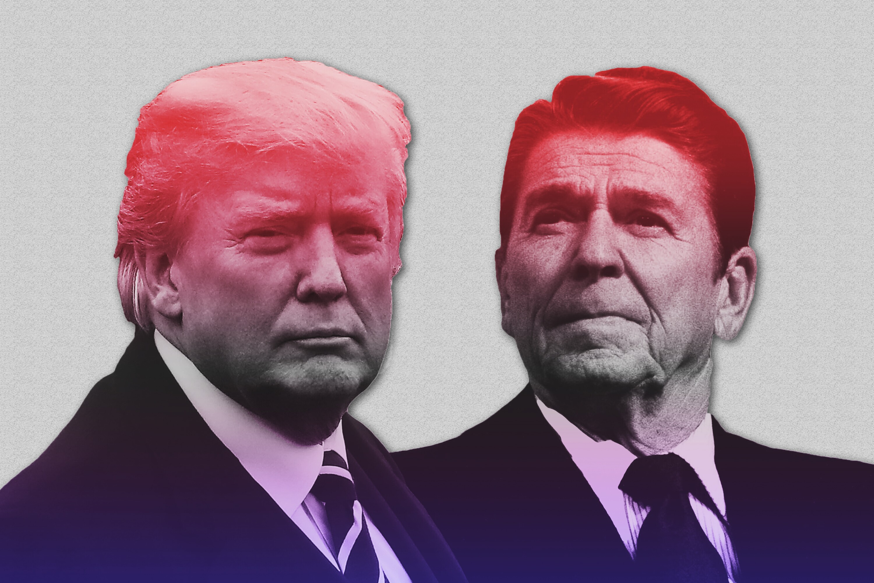 donald trump will not be ronald reagan