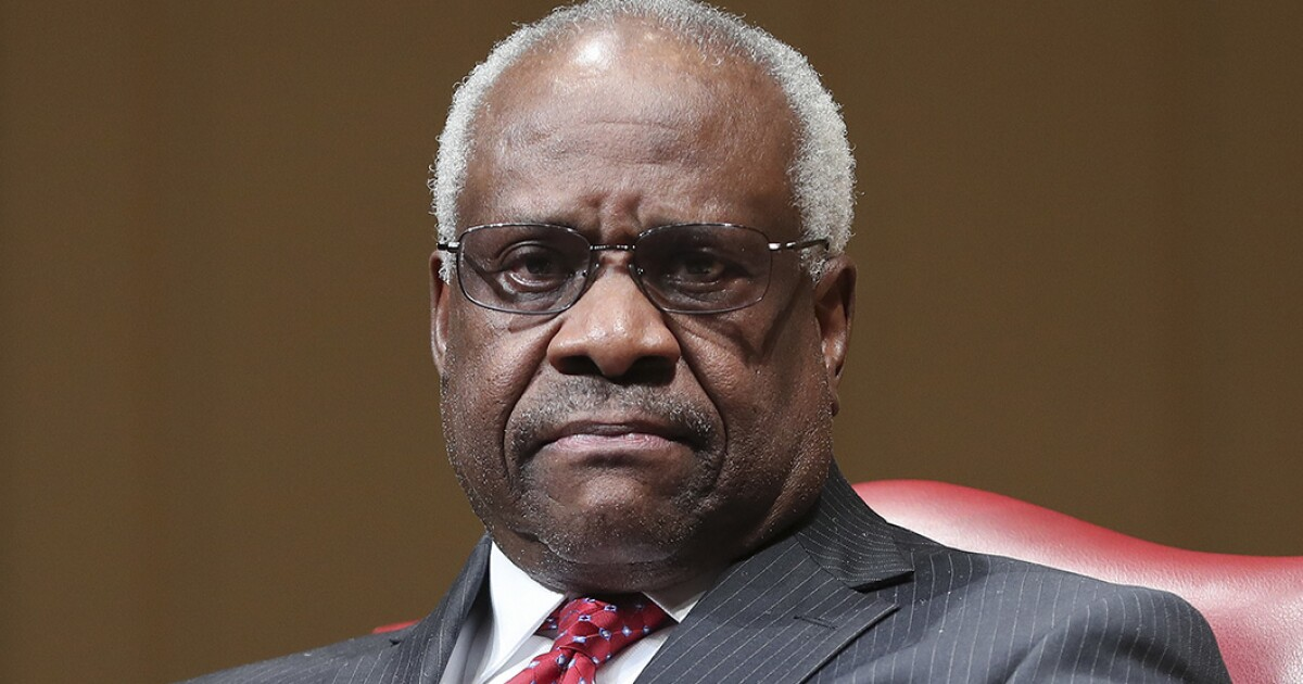 Image result for 'I thought we got away from religious tests': Clarence Thomas addresses Senate Democrats' litmus tests for Catholic judicial candidates