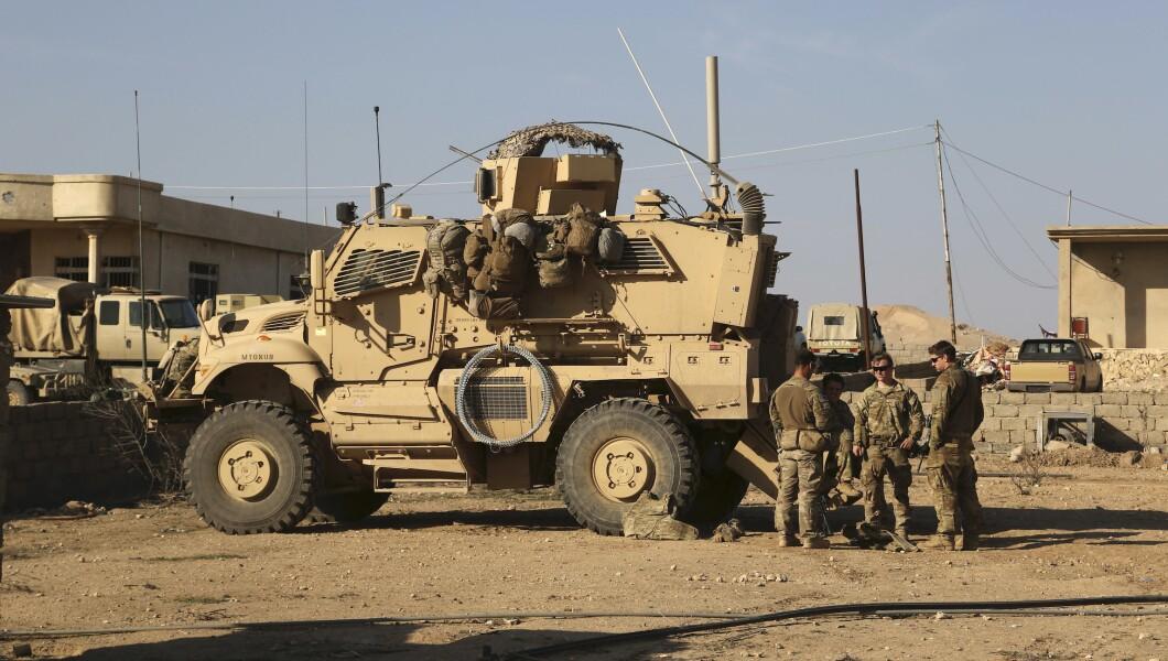 Iraq US Troops