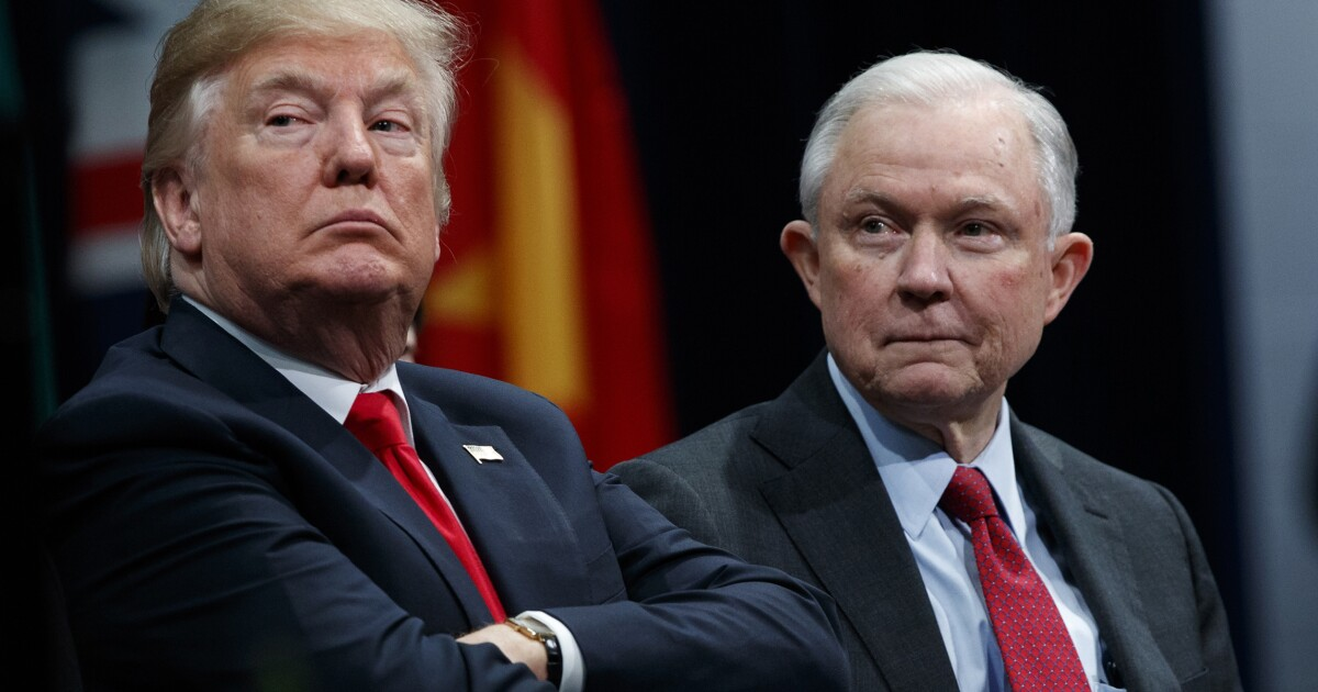 Trump privately rekindles idea of firing Jeff Sessions: Report