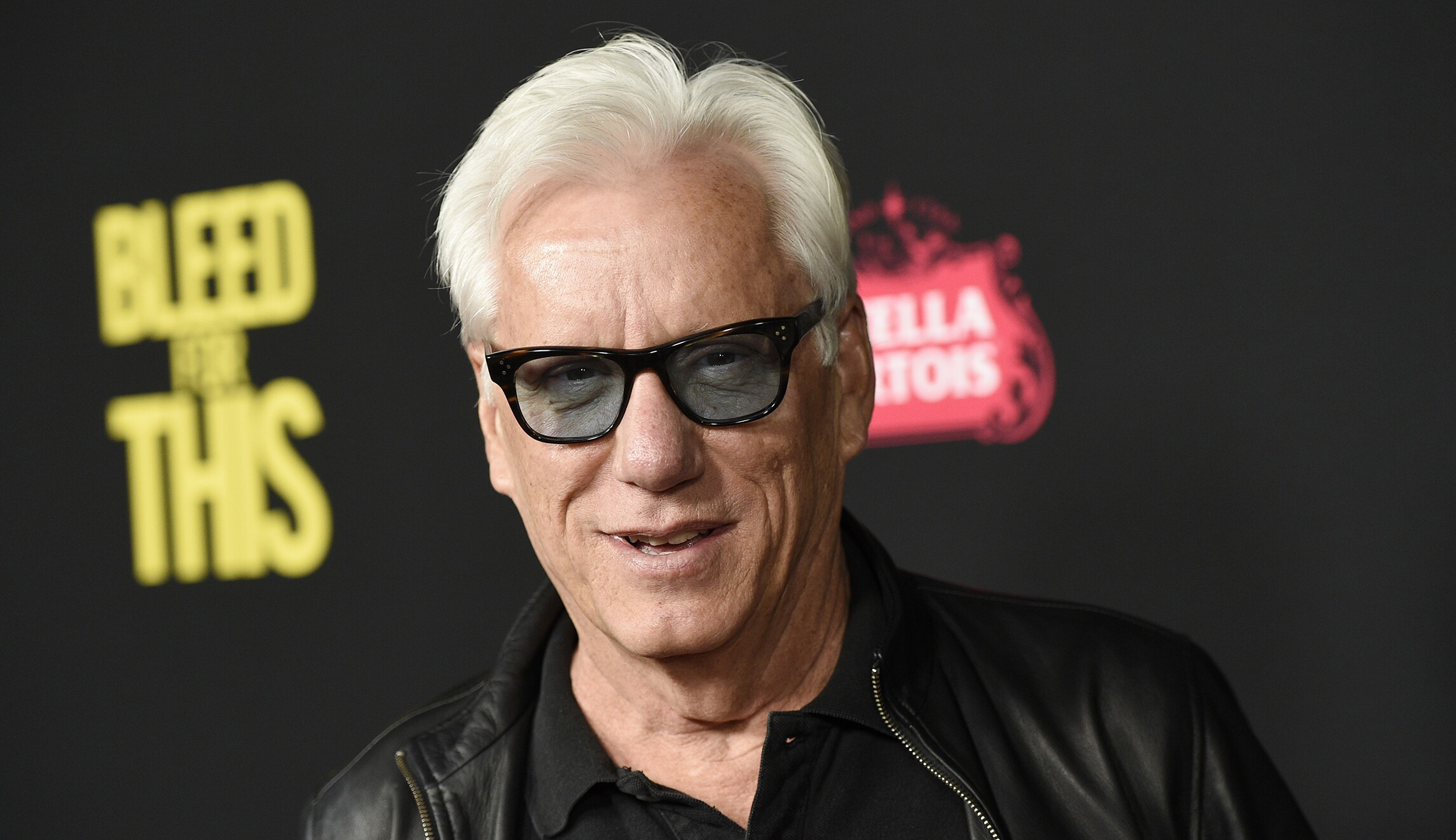 James Woods locked out...