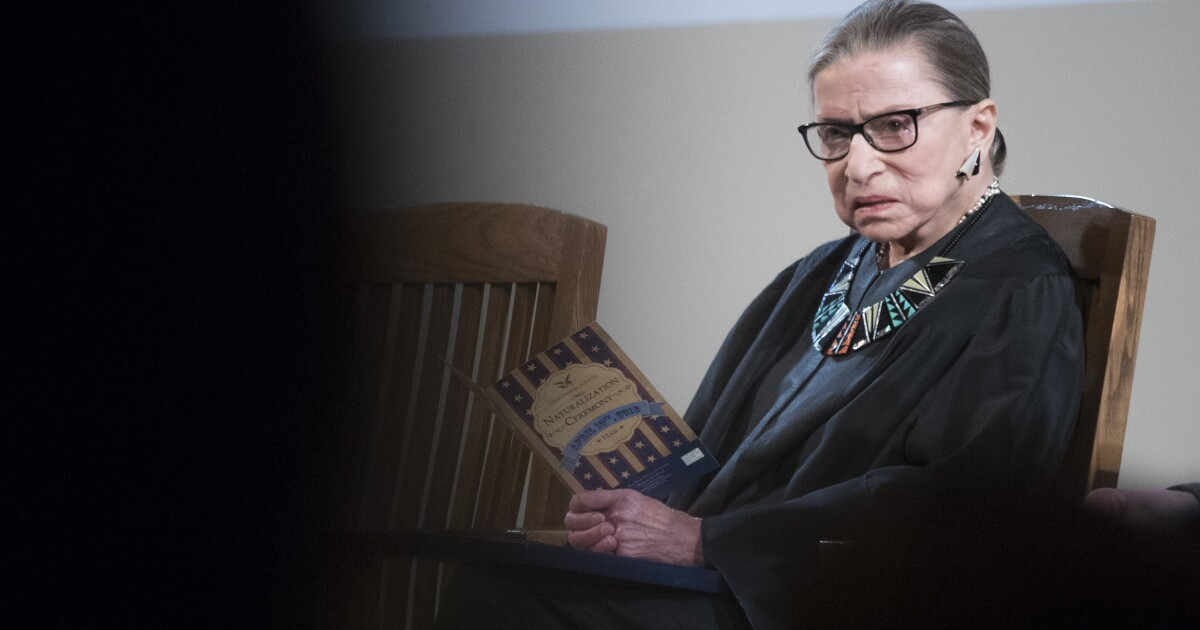 How court history reflects on the ailing RBG