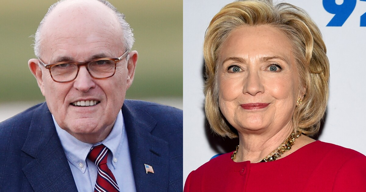 Image result for Giuliani warns Hillary: Days of 'you cannot indict a Clinton' are over