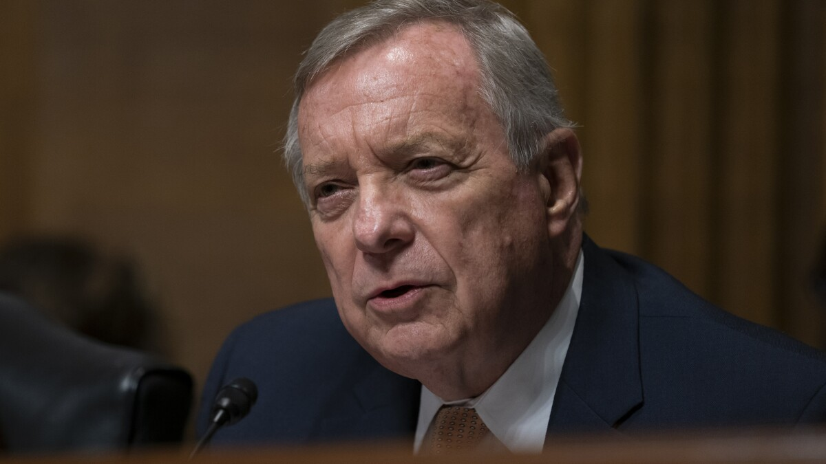 Durbin asked about prospects of Kavanaugh impeachment, says 'Get real'