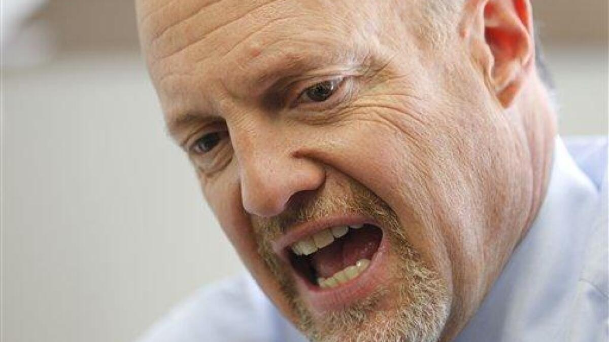 'China has a history of lying': Jim Cramer claims coronavirus cover-up