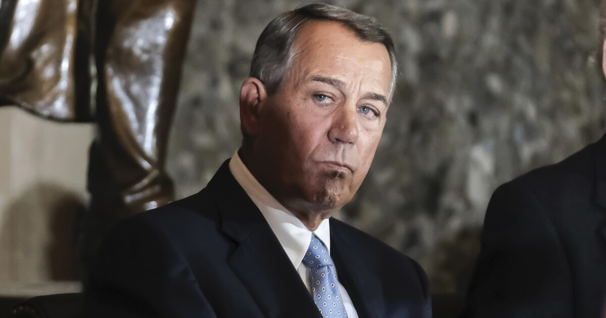 Boehner: Bernie Sanders supporters will 'sit at home' if he doesn't win nomination