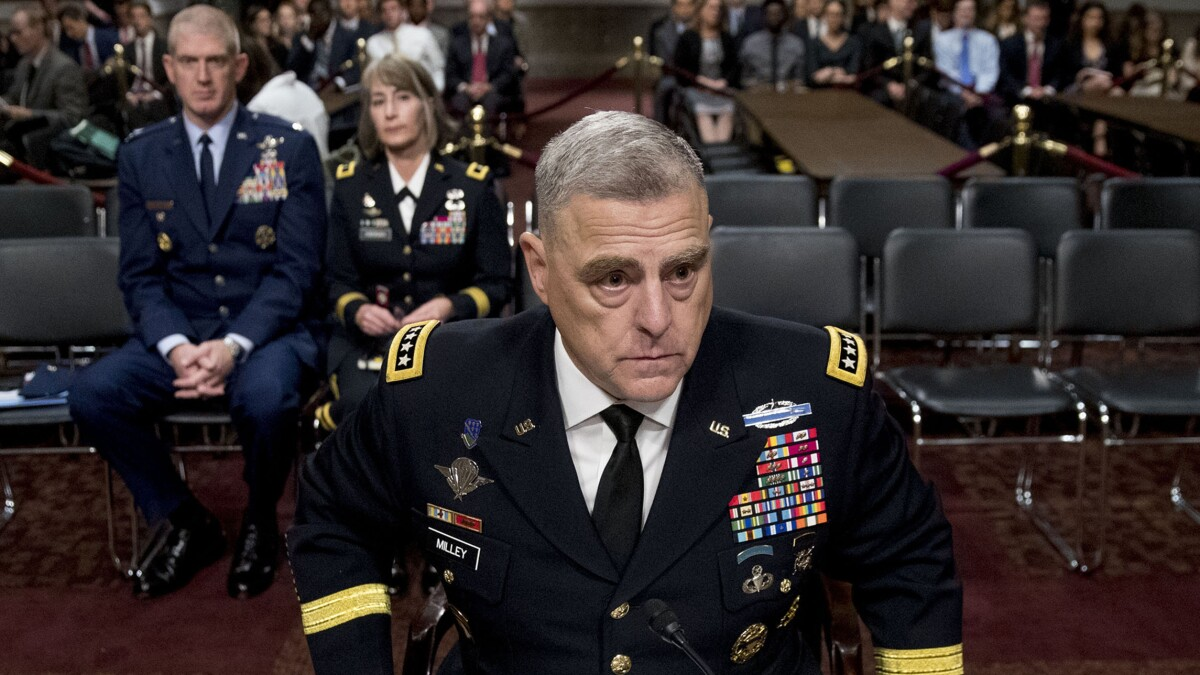 Top US general warns NATO allies against becoming 'complacent' about peace