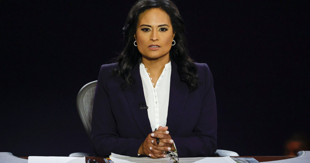 MSNBC hosts say critics owe final debate moderator Kristen Welker an apology