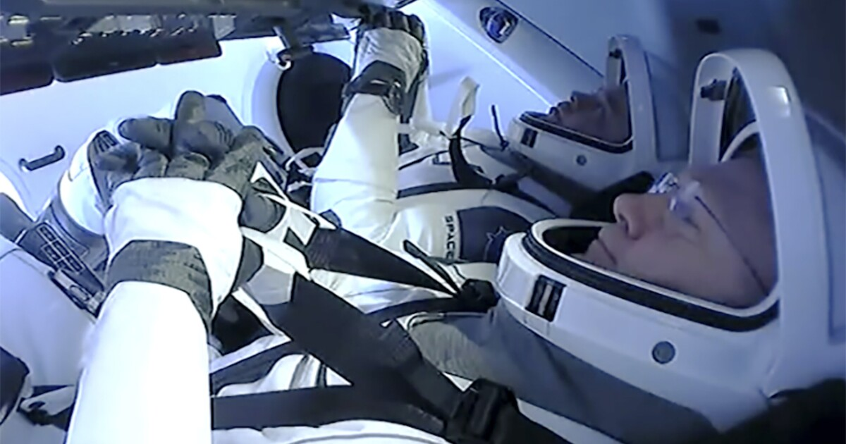 SpaceX Crew Dragon returns to Earth in first splashdown landing since 1975