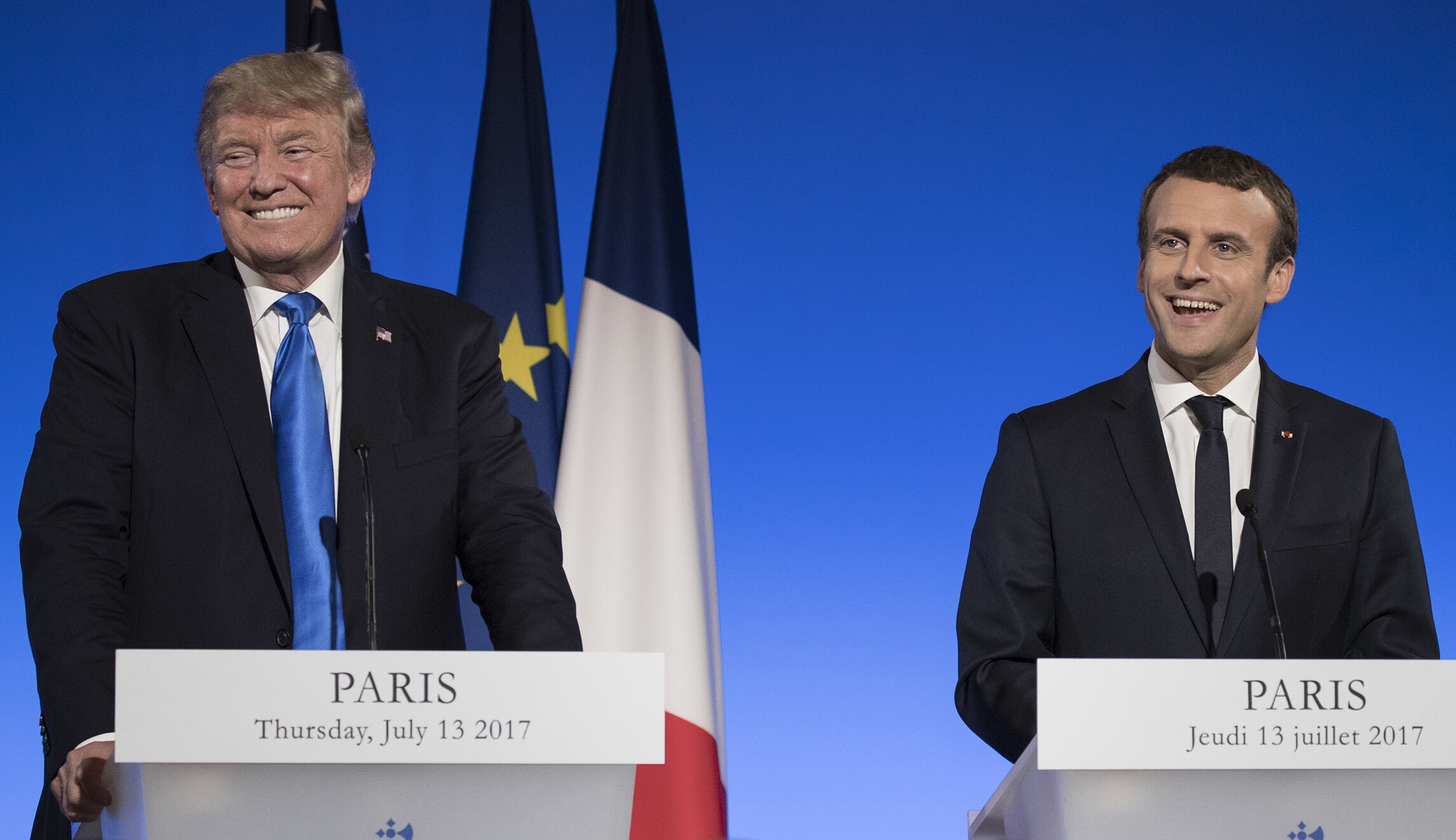 Thank Trump And Emmanuel Macron For Increased French Defense Spending