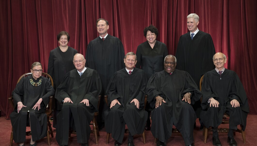 Image result for photos of supreme court justices at work
